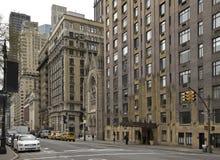 Rua de New York Central Park ocidental, Manhattan Fotografia de Stock Royalty Free