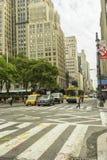 Rua de New York City Imagens de Stock