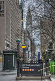 Rua de New York City 42nd Imagens de Stock