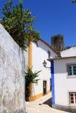 Rua de Obidos Imagens de Stock