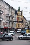Rua de Oslo Imagens de Stock Royalty Free
