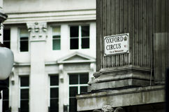 Rua de Oxford Fotografia de Stock Royalty Free