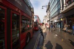 Rua de Oxford, Londres, 13 05 2014 Foto de Stock Royalty Free