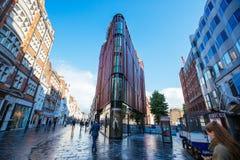 Rua de Oxford, Londres, 13 05 2014 Imagens de Stock