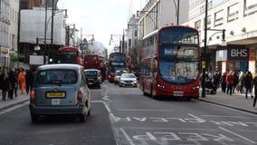 Rua de Oxford, Londres vídeos de arquivo