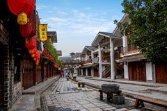 Rua de pano do rio de Hunan Zhangjiajie Wulingyuan Fotografia de Stock Royalty Free