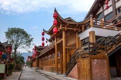 Rua de pano do rio de Hunan Zhangjiajie Wulingyuan Fotos de Stock