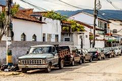 Rua de Paraty Fotografia de Stock