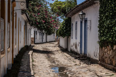 Rua de Paraty Foto de Stock