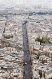 Rua de Paris Imagens de Stock Royalty Free
