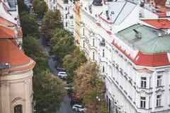 Rua de Parizska Foto de Stock