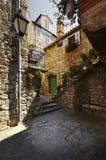 Rua de pedra velha Fotografia de Stock Royalty Free
