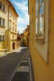 Rua de Praga Fotos de Stock Royalty Free