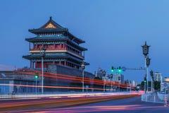 Rua de Qianmen fotografia de stock