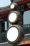 Rua de Qianmen Foto de Stock