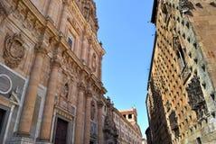 Rua de Salamanca foto de stock