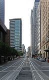 Rua de San Francisco isolada no branco Foto de Stock Royalty Free
