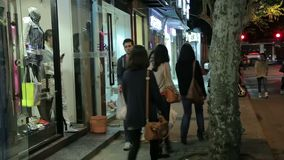 Rua de Shanghai dos desenhadores de moda filme