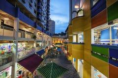 Rua de Singapore Foto de Stock Royalty Free