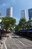 Rua de Singapura Fotografia de Stock Royalty Free