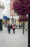 Rua de Stavanger Foto de Stock Royalty Free