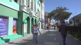 Rua de Svetlanskaya video estoque