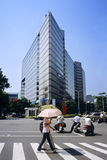 Rua de Taipei Foto de Stock