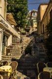 Rua de Taormina Fotografia de Stock Royalty Free