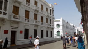Rua de Tetouan- Marrocos foto de stock royalty free