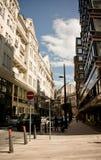 Rua de Vaci, Budapest, Hungria Foto de Stock Royalty Free