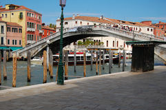 Rua de Veneza, Itália Foto de Stock Royalty Free