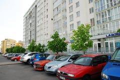 Rua de Vilnius Baltrusaicio em Pasilaiciai o 14 de maio de 2014 Imagens de Stock Royalty Free