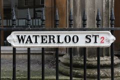 Rua de Waterloo Fotos de Stock Royalty Free