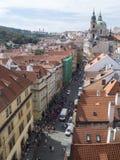 Rua do ¡ de MosteckÃ, Praga Imagem de Stock Royalty Free