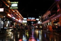 Rua do bar fotografia de stock royalty free