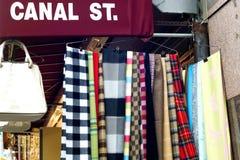 Rua do canal, New York Imagem de Stock