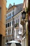 Rua do centro em Pádua no Vêneto (Itália) Imagens de Stock