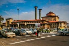 Rua do cruzamento em Tabriz Fotografia de Stock