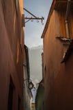Rua do estreito de Brasov Fotografia de Stock