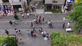 rua do Insa-dong em Seoul, Coreia vídeos de arquivo