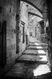 Rua do Jerusalém fotos de stock