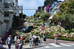Rua do Lombard, San Francisco Imagem de Stock