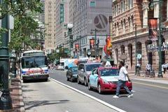Rua do mercado, Philadelphfia Imagem de Stock