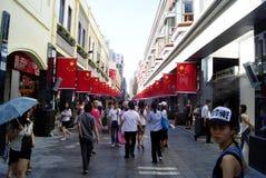 Rua do pedestre Foto de Stock Royalty Free