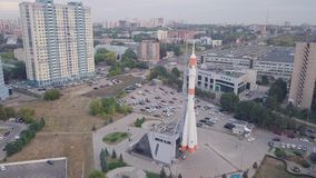 Rua do Samara da cidade vídeos de arquivo
