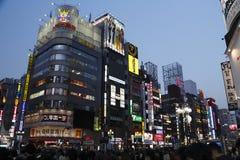 Rua do Tóquio Imagens de Stock Royalty Free