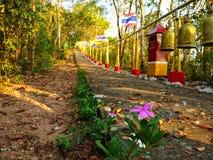 Rua do templo Imagens de Stock Royalty Free