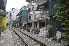 Rua do trem Imagem de Stock