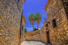 Rua do vintage, Espanha Fotografia de Stock