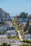 A rua do ziguezague em San Francisco Imagem de Stock Royalty Free